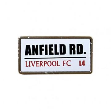 Liverpool Anfield Road Badge SS